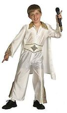 Boys Kids Rock & Roll Star King Elvis Fancy Dress Costume Party Outfit Age 4 - 6