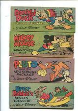 "1947 Walt Disney set ""D"" - 8 ""Pocket-Size"" Premium Comic Books Wheaties"