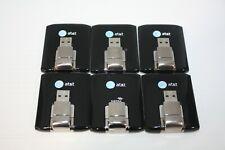 Lot of (6) Sierra Wireless Aircard 313U (AT&T) USB Broadband Modem - Untested