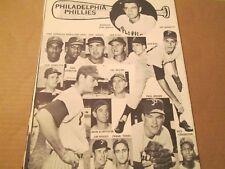 JKW 1963 Philadelphia Phils CALLISON,MAHAFFEY..REDUCED