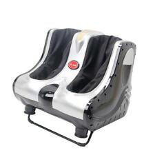 Shiatsu Kneading Foot Massager Rolling Foot Calf Ankle Leg Home Relax Gray