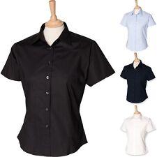 Cotton Blend Business Regular Tops & Shirts for Women