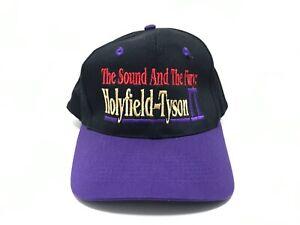 HOLYFIELD TYSON Vintage HAT NWOT Snapback CAP MIKE FURY TYSON vs HOLYFIELD 2