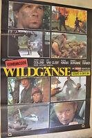 Geheimcode Wildgänse - Cartel de Película A1 - Klaus Kinski - Lee Van Cleef -