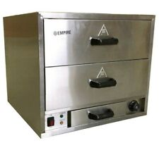 More details for bun warmer warming drawer cabinet chicken food holding water tray