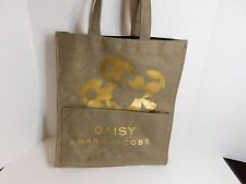 MARC JACOBS - Daisy gold thick canvas tote
