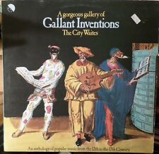 The City Waites Gorgeous Gallery of Gallant Inventions EMI Import Vinyl LP