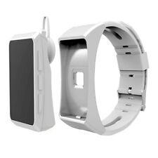 ^ QH Écouteurs Casque Audio Fitness Sports Smart Montre Bluetooth Pas Cliquetis