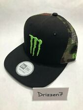 Monster Energy Athlete Only New Era 9Fifty Snapback Hat Cap