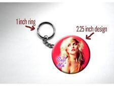 Blondie 'Call Me' Neon 80s Rock Icon Debbie Harry Key Chain