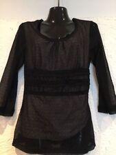 Jacqui E Polyester Career Long Sleeve Tops & Blouses for Women