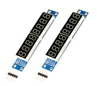 2 Stück 8 Digital segment LED Display Modul MAX7219 für Arduino Raspberry Pi