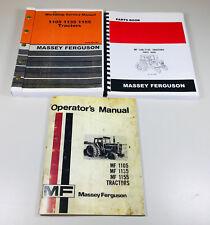 Mf Massey Ferguson 1105 1135 Tractor Service Parts Operators Manual Set Repair