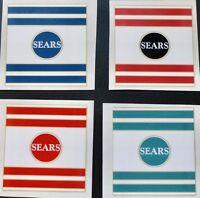 Sears Spaceliner Flightliner bicycle seat tube decal sticker - choose color
