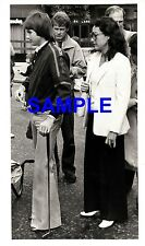 Original Foto De Prensa-Jimmy Connors izquierda Londres con un palo de golf - 1978