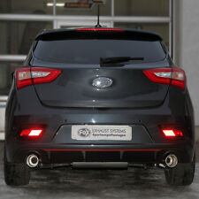 Fox Endschalldämpfer Hyundai i30 Turbo rechts/links 1x100 eingerollt