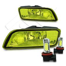 04-08 Acura TL Fog Light JDM w/Wiring Kit & COB LED Projector Bulbs - Yellow