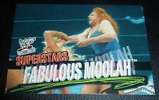 Fabulous Moolah WWF WWE 2001 Fleer Wrestlemania Trading Card #34 Legend Diva