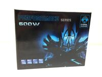 600 Watt ATX 12V Power Supply 12CM Blue Fan PCI-Express SATA 20+4 Pin Cool Power