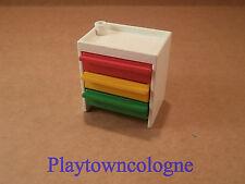 Playmobil Krankenhaus Schrank mit Schubladen Schubladenschrank #F158