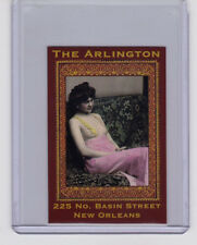 Arlington House, New Orleans bordello, limited edition Columbia Litho card