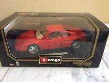 BURAGO 1/18 3039 FERRARI 348TB 1989 RED