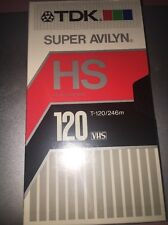 TDK   T 120 super avilyn   VHS