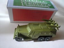RUSSIAN USSR Die cast military armored vehicle with anti-tank missiles