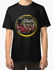Indian Scout 1925 Retro engine Vintage Motorcycle T-Shirt INISHED Productions