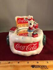 "Vintage Coca Cola Twirling Polar Bear ""Always Coca Cola"" Music Box VIDEO"