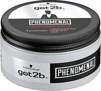 Schwarzkopf got2b PhenoMENal moulding paste 100ml **FREE POSTAGE**