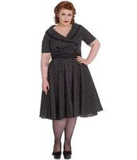 Hell Bunny Women's Polka Dot Party/Cocktail Dresses for Women