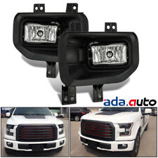 2015 2016 2017 Ford F150 Truck Pickup Replacement Bumper Driving Fog Lights Set