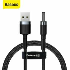 Baseus USB A Male to DC 3.5mm Power Cable 2A Charger Adapter Supply Connector 1M