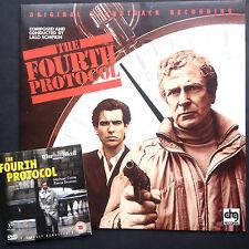 Lalo Schifrin FOURTH PROTOCOL soundtrack LP+DVD '87 Michael Caine Pierce Brosnan