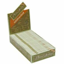 Smoking Rolling Paper Pure Hemp Unbleached 1 1/4 Box of 25 Booklets