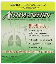 Asthmanefrin Asthma Medication Refill, 30 Count -Expiration Date 01-2019-