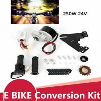 ELECTRIC BICYCLE MOTOR KIT 24V 250W E-BIKE CONVERSION KIT SIMPLE DIY E BIKE USA