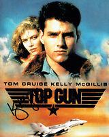 Kelly McGILLIS American Actress SIGNED 10x8 Top Gun Photo AFTAL Autograph COA