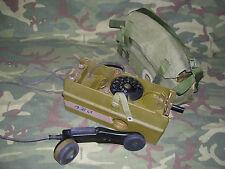 Telefono da campo DANESE con combinatore FT-58/72