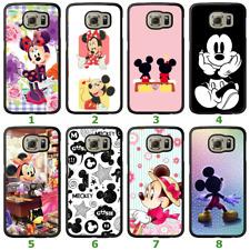 Galaxy S9 S8 Plus S7 Edge Note 8 Bumper Case Disney Mickey Minnie Mouse II Cover
