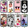 Galaxy S9 S8 Plus S7 Edge Note 8 Bumper Case Disney Mickey Minnie Mouse II Cover