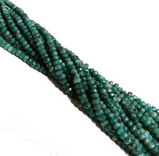 Ruby Zoisite 4mm Faceted Dyed Gemstone Rondelle Beads 15 Inch Loose