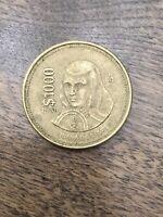 1988 ESTADOS UNIDOS MEXICANOS MEXICAN $1000 PESOS COIN