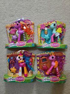 NEW Lalaloopsy Pony Ponies lot Checkers Juggles Slippers & Snap Pea  CUTE!
