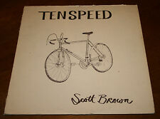 Scott Brown And The Tempests TENSPEED record Album Fish Creek Music 1975 Vintage