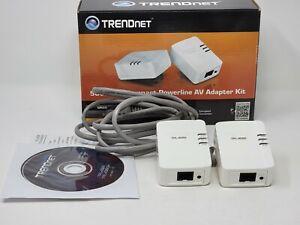 Trendnet Powerline 500Mbps AV Adapter Kit TPL-406E2K