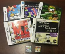 7, DS GAMES, USA VERSIONS, NEW SUPER MARIO BROS,LEGO BATMAN,KONDUCTRA, BEN 10,