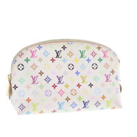 LOUIS VUITTON Monogram Multicolor Pochette Cosmetic Pouch M47354 LV Auth yk997