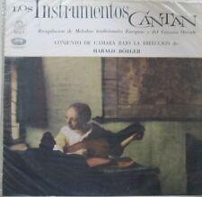LOS INSTRUMENTOS CANTAN - CONJUNTO DE CAMARA - HARALD BORGER  - LP